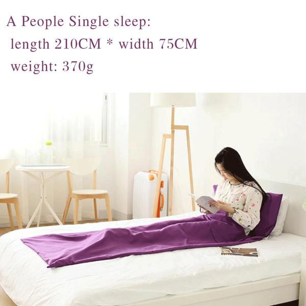 #5 single /purple/ 210*75cm