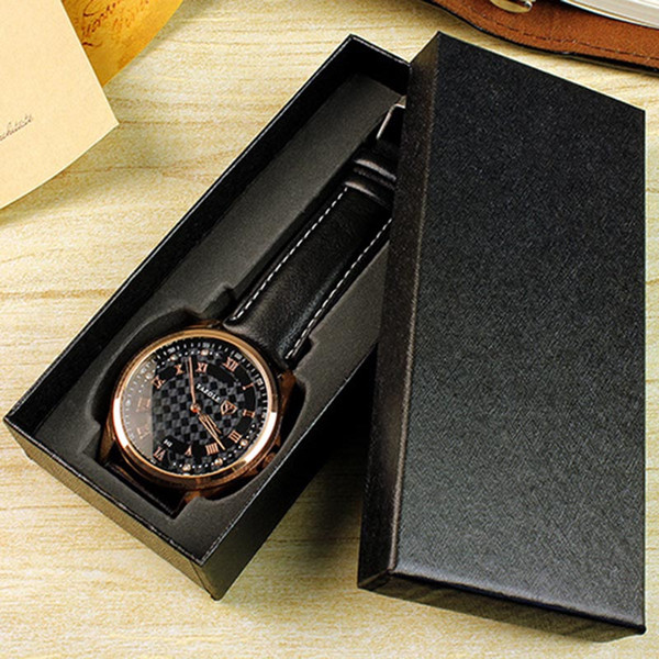 Gift Watch Box Packaging Long Design Durable Fashion Storage Case For Wedding Party BMF88