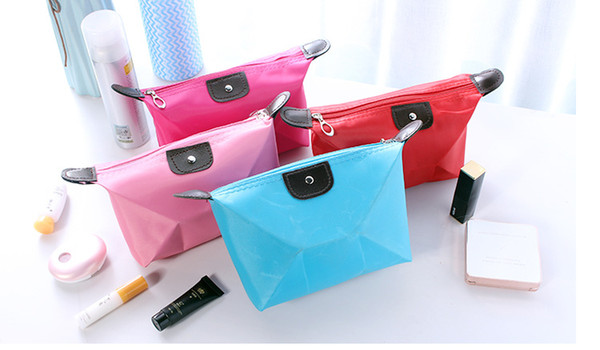 10 Colors High Quality Lady MakeUp Pouch Cosmetic Make Up Bag Clutch Hanging Toiletries Travel Kit Jewelry Organizer Casual Purse Cheapest