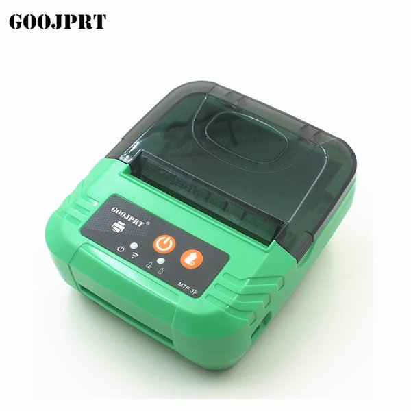 80mm Portable Mobile Printer Wireless Bluetooth Printer Mini Thermal Support Android + IOS