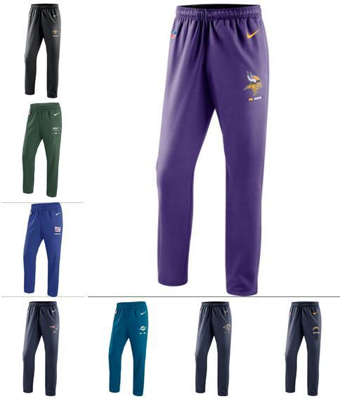 2020 New Style Orleans Angeles Minnesota Miami York Men giants Jets Dolphins Vikings Chargers Team Performance Pants
