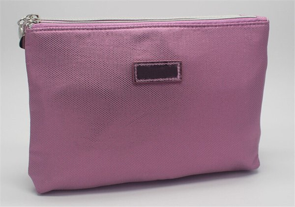 LC Paris Glitter Double-Layer Polyester Cosmetic Bag Wallet Cell Phone Pouches Casual Fashion For Girl Women