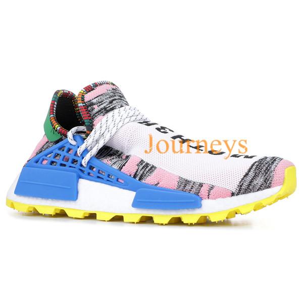 Scarpe Da Ginnastica Uomo 2019 NMD Human Race Pharrell Williams Uomo Scarpe Da Corsa PW HU Holi MC Tie Dye Uguaglianza Designer Donna Sport Sneakers