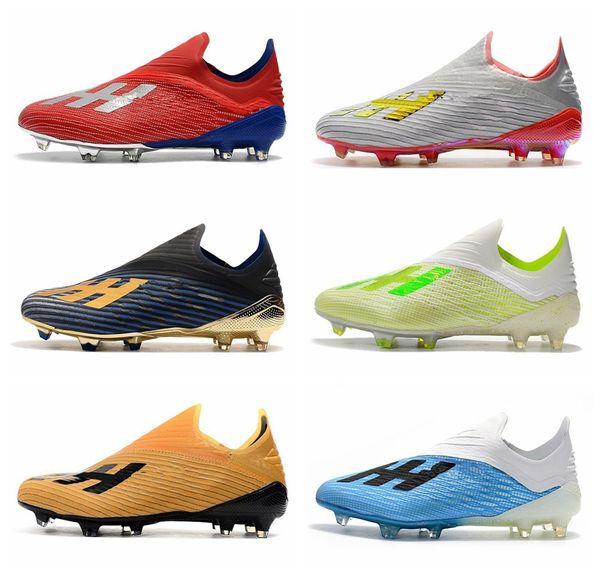 Compre ADIDAS New Mens Copa 19+ 19,1 FG AG 19 + X 19 Shoes Hot Deslizamento Em Red Champagne Solar Futebol Futebol Botas Scarpe Calcio Grampos Baratos