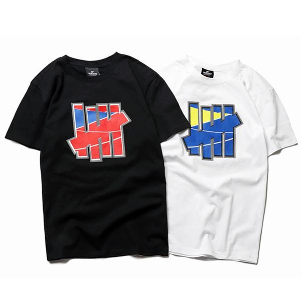 Yenilmez Erkek Tasarımcı T Shirt Erkek Kadın Yüksek Kalite Yaz Kısa Kollu Moda Erkek Tasarımcı Hip Hop Tees