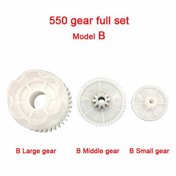 B 550 Full set