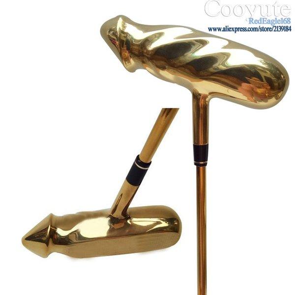 Yeni erkek Golf Kulüpleri Cooyute Kişilik Altın renk Golf Atıcı ve Çelik Golf mili Kulüpleri Atıcı Ücretsiz kargo