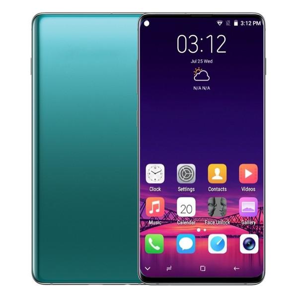 Goophone S10 S10 + Touch ID андроид 9.0 смартфонов Показанных 4G LTE окт Основные 6,4 дюйм 6G ОЗУ ПЗУ 512 г Сотовые телефоны