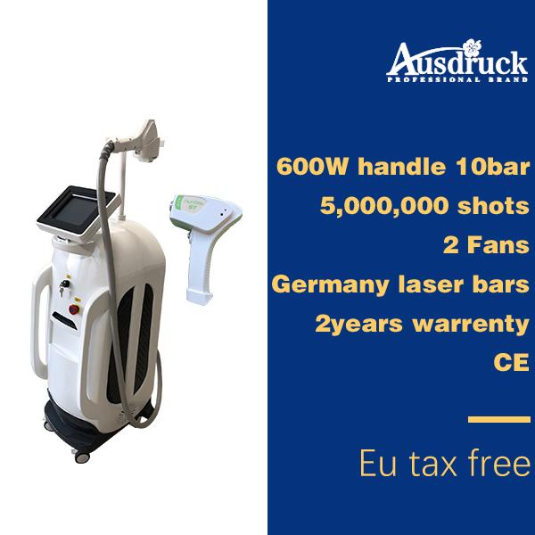 uk dhl shipping diode laser 808nm hair removal laser machine lightsheer machine for sale 50 million s permanently ce
