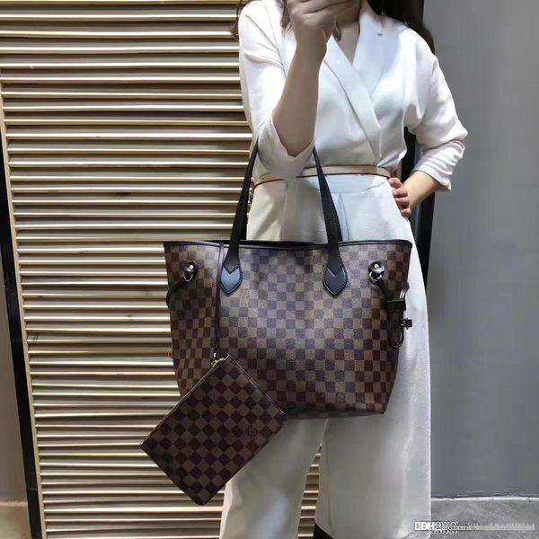 top popular LOUISVUITTON1 NEVERFULL HANDBAGS WOMEN LEATHER BAG MESSENGER BAGS BIG TOTE MICHAEL V7 KOR SHOULDER BAGS CLUTCH wallets A589I 2019