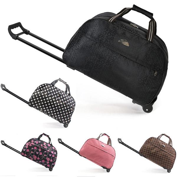 Gepäcktasche Reisetasche Rollkoffer Trolley Damen Herren Reisetaschen Mit Rad Handgepäcktasche