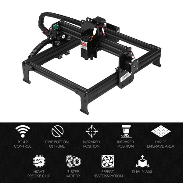 best selling 20W 7000mW Laser Engraver Machine Upgrated Version Laser Engraving Printer DIY USB CNC Router Cutting Carver Off-line Location