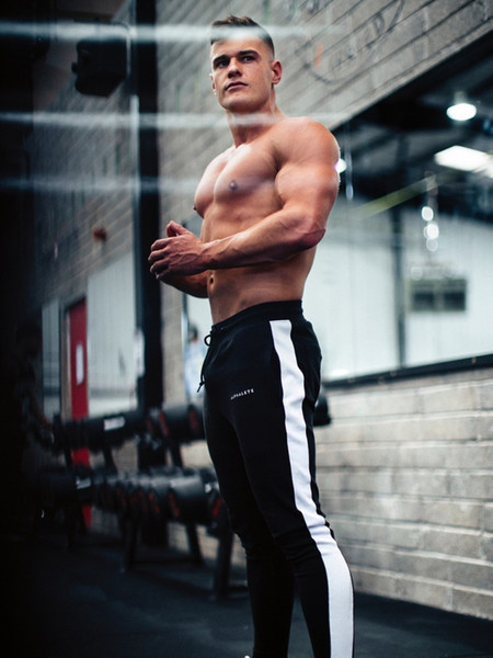 Alphalete Mens Joggers Pantaloni casual Fitness Uomo Abbigliamento sportivo Pantaloni tuta Pantaloni skinny Pantaloni da ginnastica Palestre Pantaloni da jogging