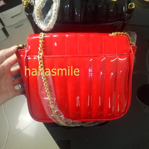 2019 büyük sevgililer hediyeler vicky zincir kapitone rugan kadın aziz çanta lüks tasarımcı kompozit çapraz omuz çantaları handbag7474d #