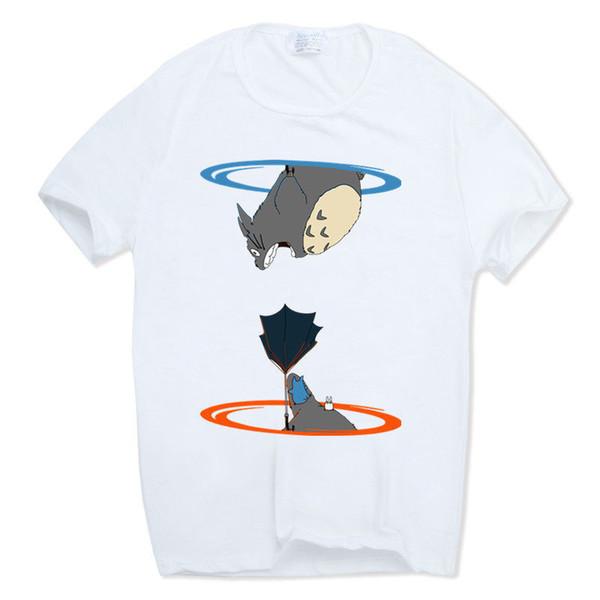 Asian Size 2019 Men Women Printing Portal Logo Funny T-shirt Short Sleeve O-neck Streetwear Video Game Tshirt Hcp506