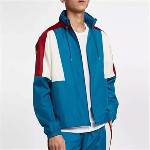 Autumn Designer Mens Jacket Brand Fashion Windbreaker Long Sleeve Mens Hooded Jackets Zipper Coat Mens Sweatshirt Sportwear M-3XL B100376K