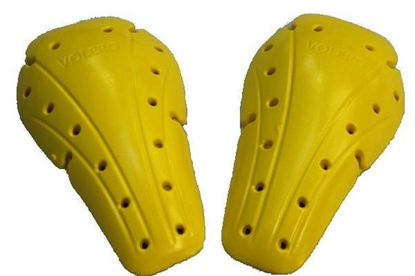 rodilleras normales amarillas
