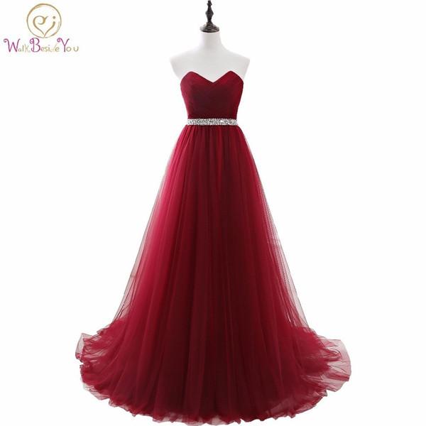 Vestiti Eleganti Lunghi Donna.Acquista 100 Immagini Reali Vestito Elegante Donne La Festa
