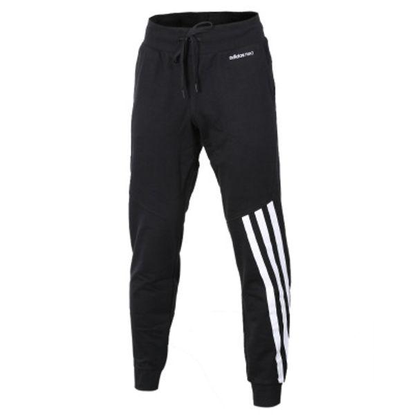 Nova Marca Calça Casual Neo Carta Long Sweatpants Skinny Basculador Esporte Calças Hip Hop Cor Sólida Chinos Elástico Na Cintura Calças 2 atacado