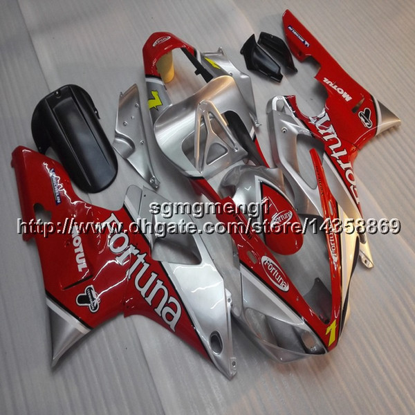 23colors+Botls red silver motorcycle cowl fairing for Yamaha YZFR1 2000-2001 00 01 YZF R1 ABS motorcycle article