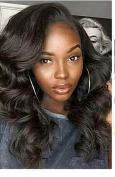 Lala Hair l! Очень красивый дизайн 10-30 дюймов свободная волна бразильский малайзийский индийский человеческий волос переплетения волос