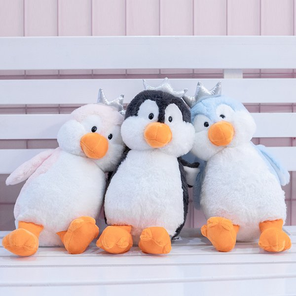 30cm Soft Cute Penguin Plush Toys Staffed Cartoon Animal Doll Fashion Toy for Kids Baby Lovely Girls Christmas Birthday Gift