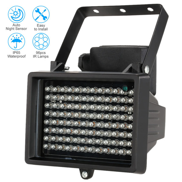 96 LEDS IR Infrared Illuminator Lamps Night Vision For Outdoor Fill Light CCTV Surveillance Camera