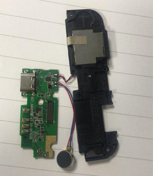 Power 3 Conector del puerto de carga Muelle de carga USB Cable flexible para Ulefone Power 3 3S Altavoz Altavoz Altavoz Timbre Zumbador Shiping libre