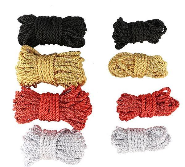 BestSelling wholesale 10 Meters Cotton Rope Adult Sex Game BDSM Bondage Flirting Adult Sex Product