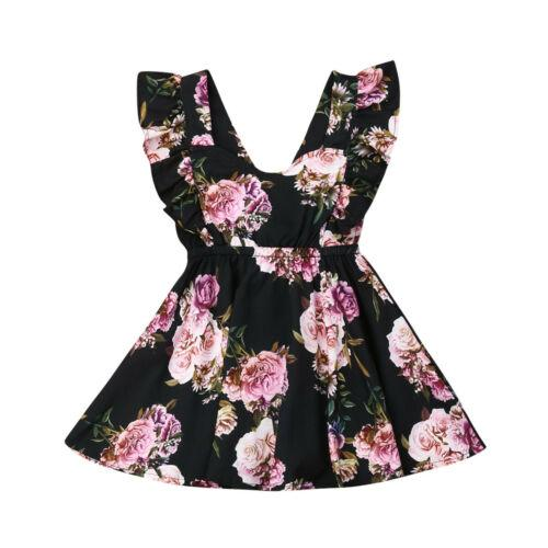 Fashion Newborn Kids Baby Bibs Girls Flower Printing Party Pageant Princess Gown Dress Sundress Summer 1-6T Children Clothing Fashion Newborn Kids Baby Bibs Girls Flower Printing Party Pageant Princess Gown Dress Sundress Summer 1-6T Children Clothing
