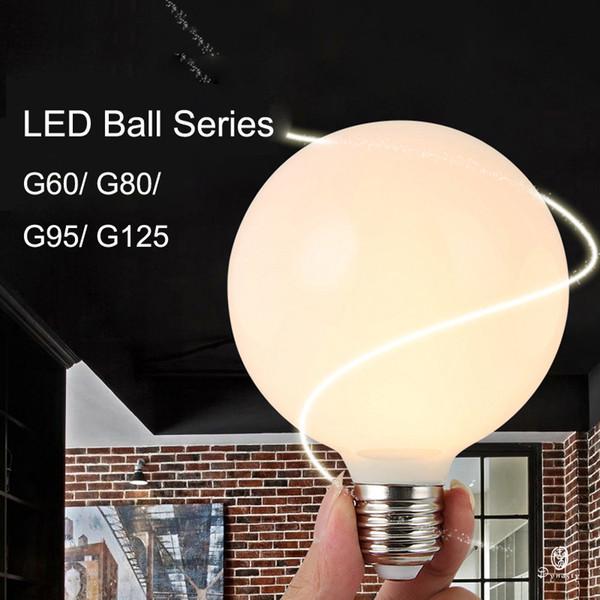 Dekoratif Işık Ampüller LED Küre E27 Dragon Ball Aydınlatma Armatür 3W / 5W / 7W G60 G80 G95 G125 Serisi Işık kolye Ücretsiz Kargo Asma