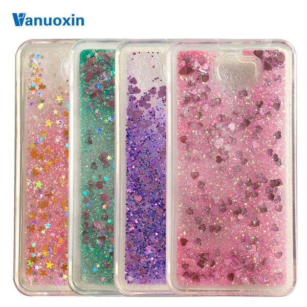 Soft Phone Cases Sfor Fundas Huawei Y5ii Y5 2 Case Huawei Y6 Ii Compact Case For Honor 5a Lyo-l21 Liquid Glitter Tpu Case Cover