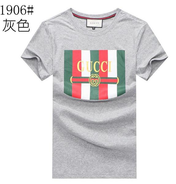 polo para hombre diseñadores camiseta Marca deporte al aire libre Salvaje transpirable para hombre ropa nuevo estilo de impresión camisetas mans caliente ropa de verano M-XXL