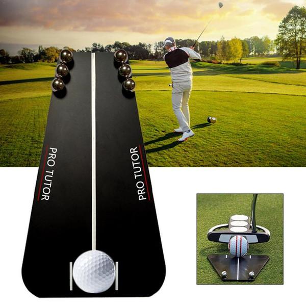 Golf Tool Putting Зеркало Обучение Выравнивание Портативное Зеркало Инструменты Выравнивания Помощи Гольфа Инструменты Аксессуары Для Фитнеса Спортзал