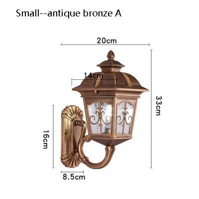 small Antique bronze A