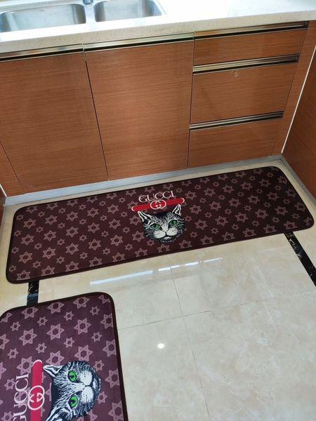 Kitchen Bathroom Bathtub Bedside Wash Table Carpet Home Kitchen Rugs Modern Carpets Non Slip Backing Doormat Runner Mats Suit Clean Carpet Online