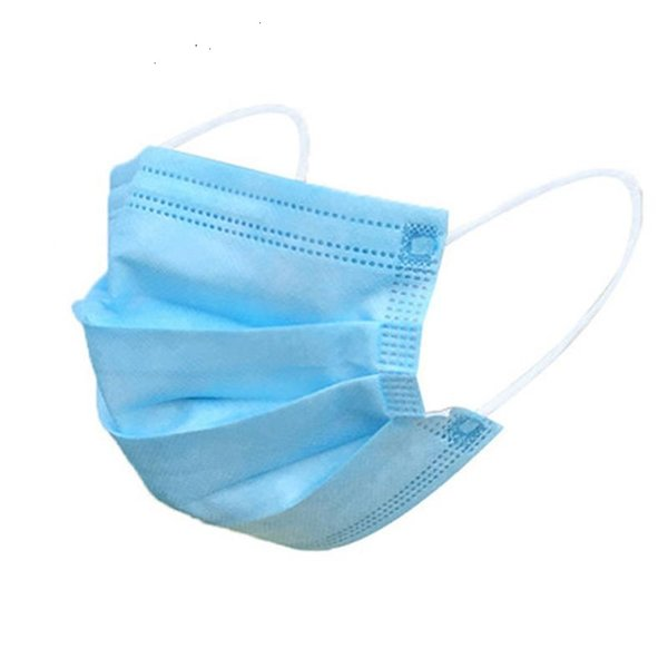 1000pcs disposable face mouth masks anti pm2.5 breathing safety masks face earloop mask non-woven face mask