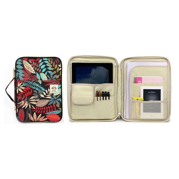 Women's Nylon A4 Document Bag Waterproof Passport Holder Office File Folder Laptop Handbag Business Briefcase Travel Organizer #563736