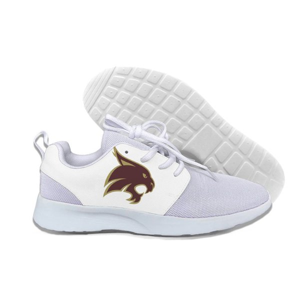 CINTURA DA SOLE Texas State Bobcats Scarpe casual leggere causali uomo / donna personalizzate