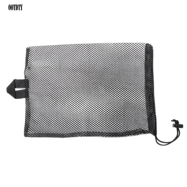 Quick Dry Swim Dive Net Bag Drawstring Type Water Sport Snorkel Flippers Storage Swimming pool Packing Net Bag