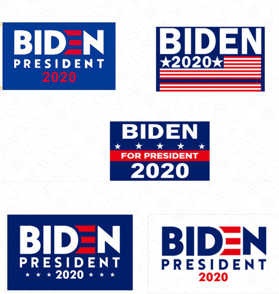 best selling 90*150CM BIDEN 2020 Presidential Campaign Flag The US Election Biden Letters Garden Banner Polyester Garden Home Flags Decoration Hot D62901