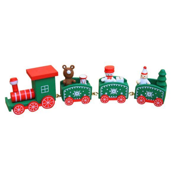 4 Segments Train-Green
