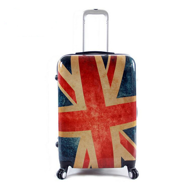 20 Inch 24'' Rolling Luggage Bag PC Travel Suitcase Wheel for Women Men Trolley Case Carry on TSA Customs Code Lock Box