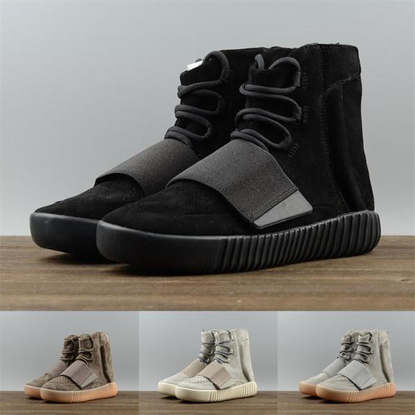 Nuova 750 Basf Scarpe da corsa delle donne alta OG Triple Black Chocolate Designer Shoes di lusso Grey Top Quality Sport Tempo Strade Uomini Sneakers