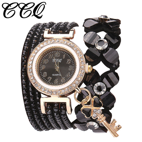 Flowers Geneva Watches Fashionable Stylish Quartz Bracelet Ladies Diamond Watch Wristwatch Clock Valentine Gift Reloj femenino