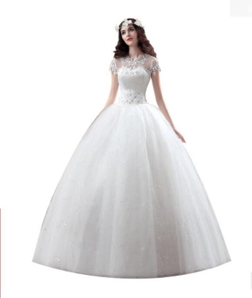 Women Luxury Dress Red tail wedding Bride princess Sexy beautiful Embroidered gold silk luxury slim strap lace Party dresses