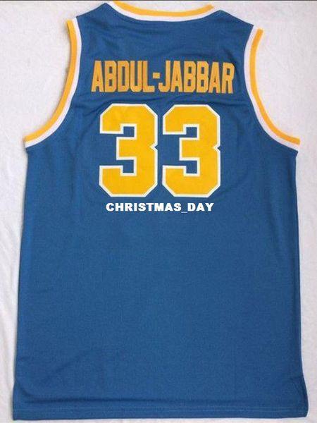 Cheap wholesale Kareem Abdul-Jabbar #33 UCLA Bruins College Sewn Customize any name number MEN WOMEN YOUTH basketball jersey