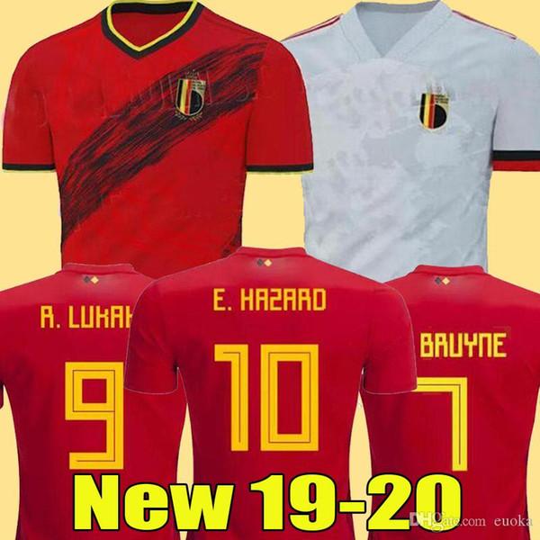 2020 Belgique RISQUE 2019 Lukaku MERTENS Maillot de football Accueil 19 20 VERMAELEN DE BRUYNE NAINGGOLAN équipe nationale loin MAN + ENFANTS MAILLOT DE FOOT