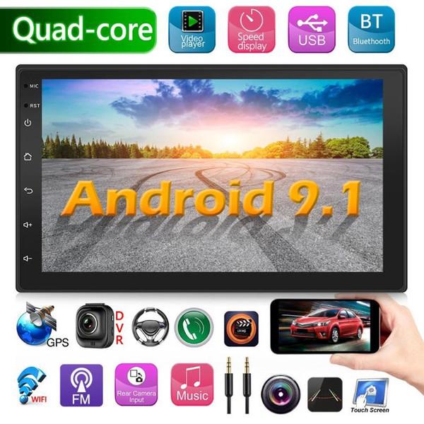 7 pollici 9218S aggiornati Android 9.1 GPS dell'automobile di Radiohead navigazione Bluetooth Unità RCA Audio Output Collegare al subwoofer