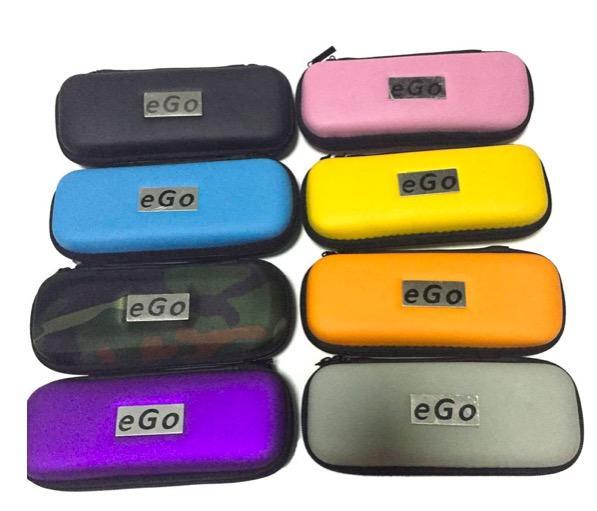 Best Price eGo leather Bags E Cigarette e cig Zipper Travel Cases for Mod Protank ecig eGo Starter Kit